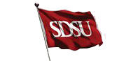 The Campaign for SDSU Flag