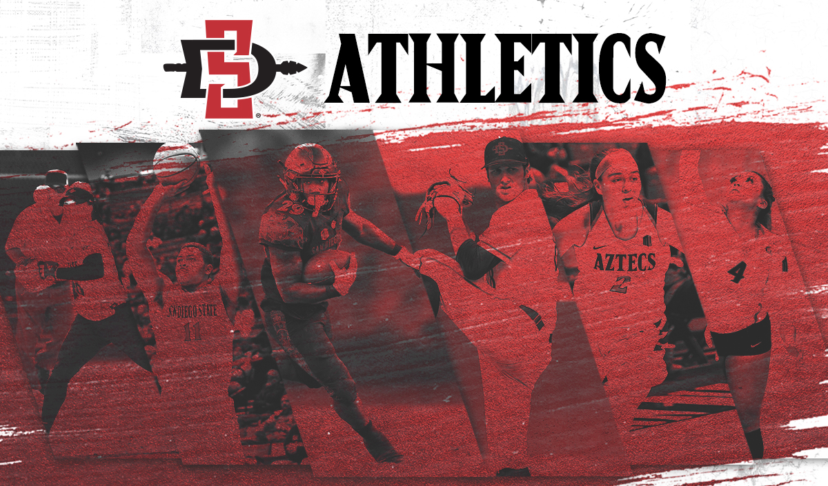 SDSU athletics banner