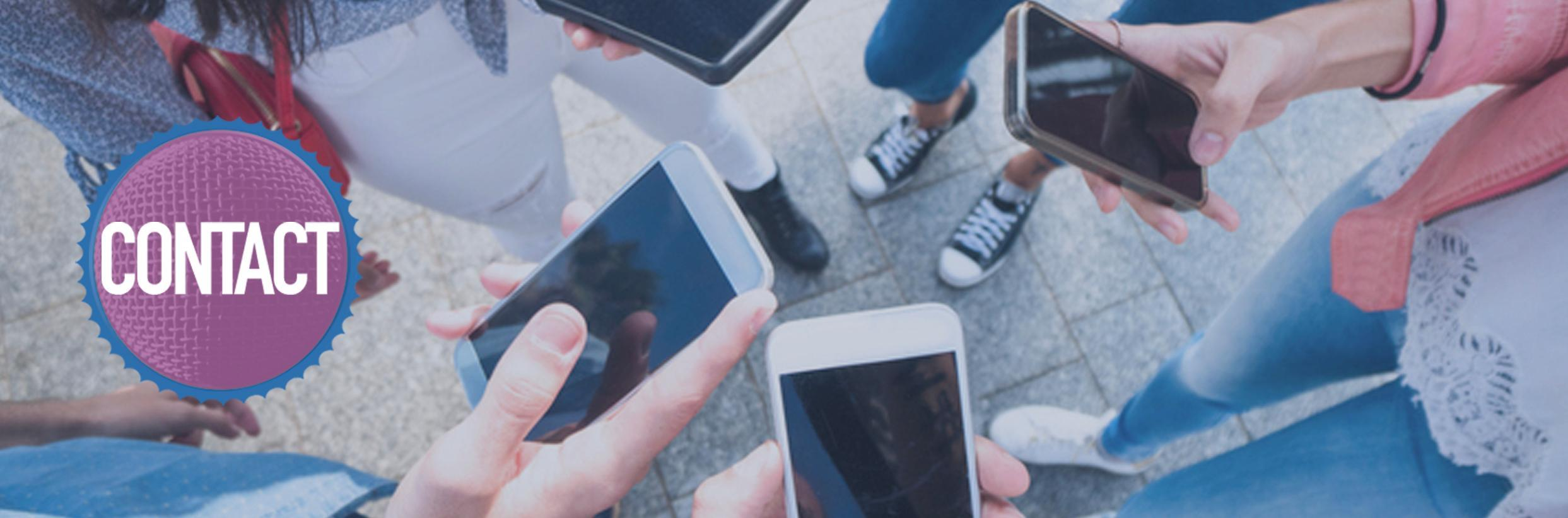 CONTACT students with cell phones